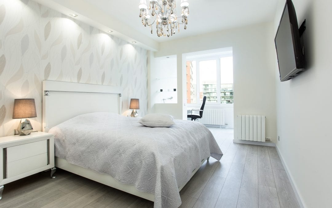 How to correctly distribute your bedroom when renovating it