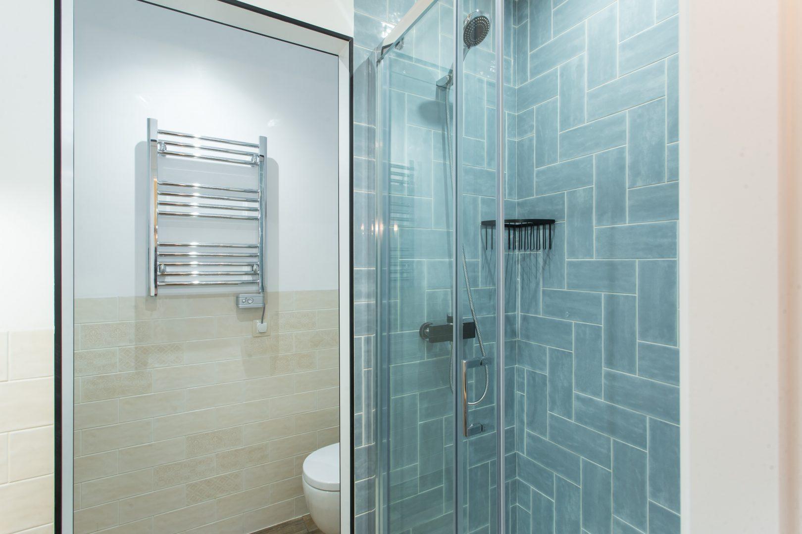 ducha en baño