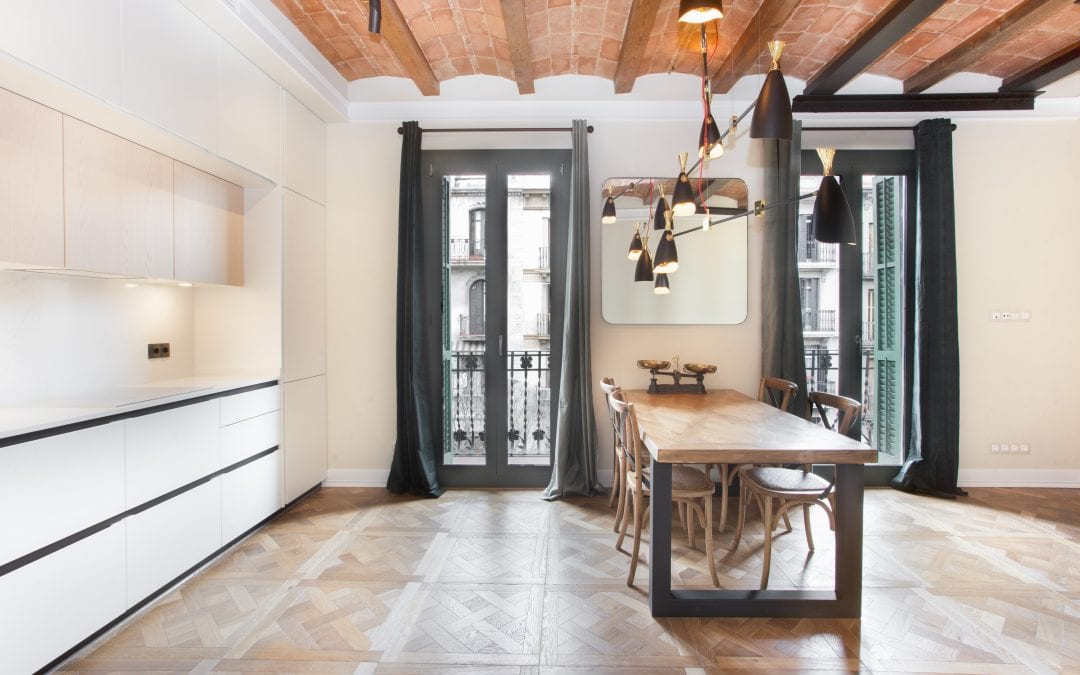 Renovation of apartments with domed Catalan ceilings