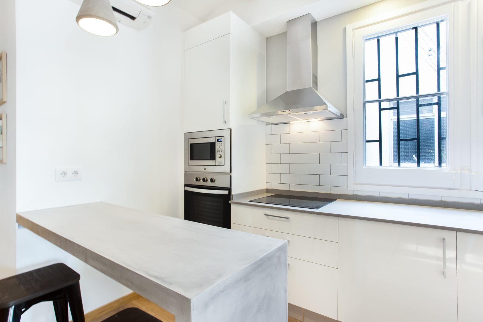 reforma cocina minimalista
