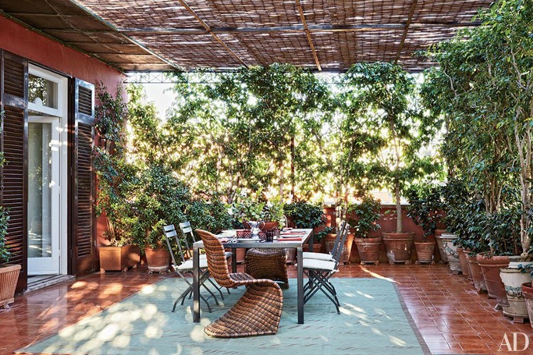 5 styles of terraces to decorate with charm