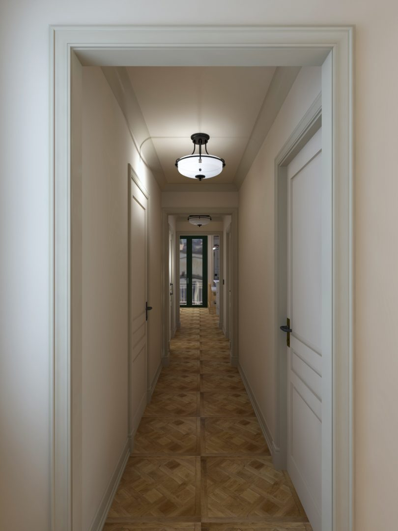 9 ideas for decorating your house using moldings and baseboards