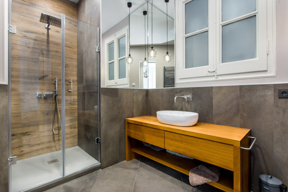 baño de un piso turístico