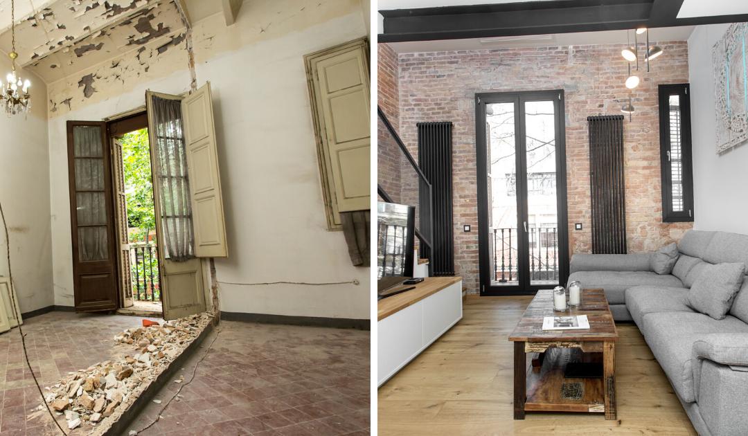 3 examples of renovations at 70m2