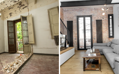 3 examples of renovations at 70m2